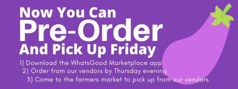 New Rochelle Farmer's Market WhatsGood signup